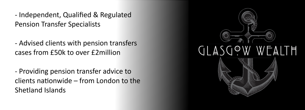 Pension transfer advice Glasgow